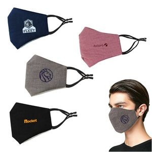 Face Mask Adjustable Earloops